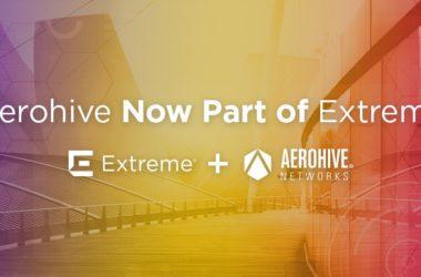Extreme Networks finalizuje przejęcie firmy Aerohive